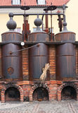 fabbrica di birra Retro-designata Fotografia Stock