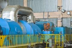 Fabbrica di elettricità Immagine Stock
