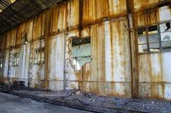 Fabbrica di estrazione mineraria Fotografia Stock Libera da Diritti