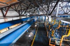 Fabbrica di fabbricazione, produzione alta tecnologia moderna Immagine Stock Libera da Diritti