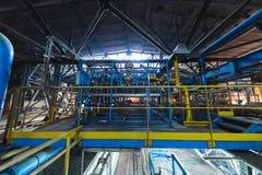 Fabbrica di fabbricazione, produzione alta tecnologia moderna Immagini Stock
