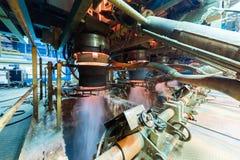 Fabbrica di fabbricazione, produzione alta tecnologia moderna Fotografia Stock Libera da Diritti