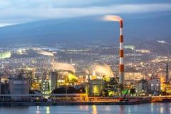Fabbrica di industria di Shizuoka Fotografie Stock Libere da Diritti