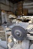 Fabbrica di legno Fotografie Stock Libere da Diritti