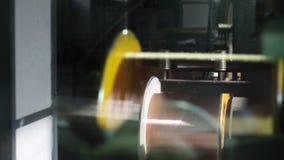 fabbrica di produzione del cavo archivi video