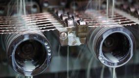Fabbrica di produzione del cavo stock footage