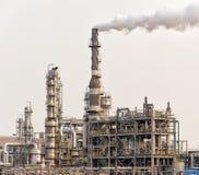Fabbrica elaborante del gas paesaggio Immagine Stock
