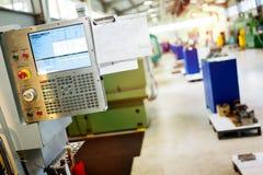 Fabbrica fornita di macchine di CNC Fotografia Stock
