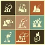 Fabbrica industriale Fotografia Stock Libera da Diritti