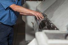 Fabbrica industriale del metallo Immagine Stock