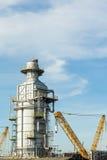 Fabbrica industriale della metropolitana - immagine di riserva Fotografia Stock