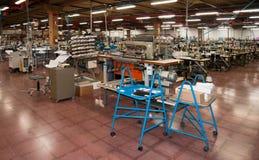 Fabbrica italiana dei vestiti Fotografia Stock