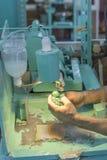 Fabbrica per l'elaborazione della pietra Immagine Stock