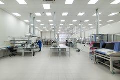 Fabbrica per la fabbricazione di circuiti stampato elettronici Fotografie Stock