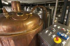Fabbrica per produzione della birra dei mestieri Fotografie Stock Libere da Diritti