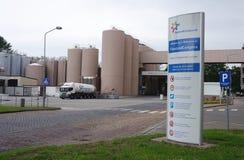 Fabbrica reale di FrieslandCampina nei Paesi Bassi Fotografie Stock Libere da Diritti