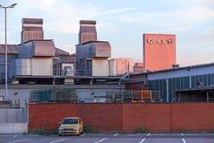 Fabbrica Ruesselsheim di Opel fotografia stock libera da diritti