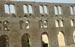 Fabbrica Ruins2 delle mattonelle Fotografie Stock Libere da Diritti