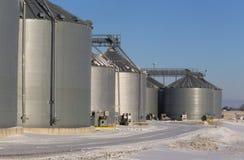 Fabbricati agricoli della fabbrica Fotografie Stock Libere da Diritti