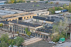 Fabbricati industriali Fotografie Stock