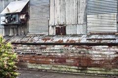 Fabbricati industriali abbandonati Fotografie Stock Libere da Diritti