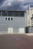 Fabbricati industriali abbandonati Immagini Stock