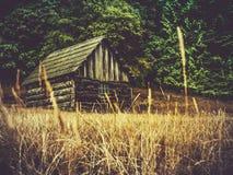 Fabbricato agricolo rustico Fotografia Stock