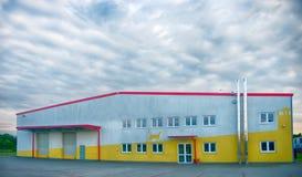 Fabbricato industriale fotografie stock libere da diritti
