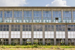 Fabbricato industriale di Abadoned Immagini Stock Libere da Diritti