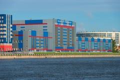 Fabbricato industriale e area d'interesse VKO Almaz-Antey Fotografia Stock