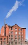 Fabbricato industriale tipico Immagini Stock Libere da Diritti