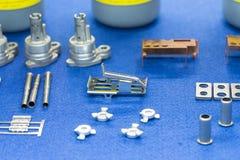 Fabbricazione automobilistica d'acciaio della parte di alta precisione Immagine Stock Libera da Diritti