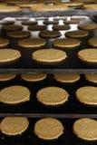 Fabbricazione commerciale e dolci bollenti dell'avena non 3 immagini stock libere da diritti