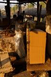 Fabbricazione degli strati di carta di bambù Immagine Stock Libera da Diritti