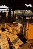 Fabbricazione degli strati di carta di bambù Fotografie Stock Libere da Diritti