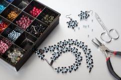 Fabbricazione dei gioielli Immagine Stock Libera da Diritti