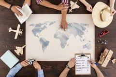 Fabbricazione dei piani per le vacanze Immagine Stock Libera da Diritti
