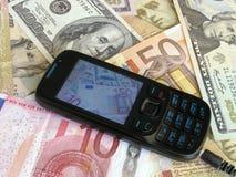 Fabbricazione dei soldi Fotografie Stock
