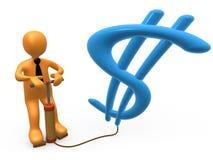 Fabbricazione dei soldi Fotografie Stock Libere da Diritti