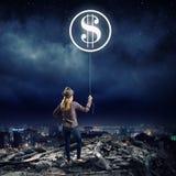 Fabbricazione dei soldi Fotografia Stock Libera da Diritti