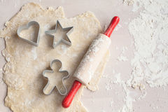 Fabbricazione del biscotto Immagine Stock