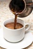 Fabbricazione del caffè Fotografia Stock