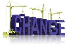 Fabbricazione del cambiamento Immagine Stock