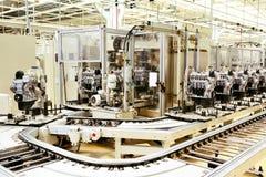 Fabbricazione del motore fotografia stock