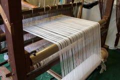 Fabbricazione del panno Fotografia Stock
