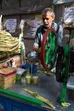 Fabbricazione del Sugar Cane Juice 2 Immagini Stock