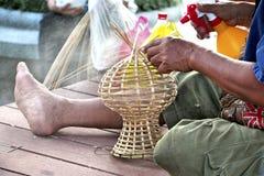 Fabbricazione del vaso dell'artigianato Fotografia Stock