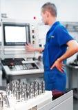 A fabbricazione del workshop dello strumento del laminatoio Fotografie Stock
