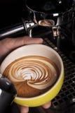 Fabbricazione dell'arte del Latte fotografia stock libera da diritti
