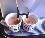 Fabbricazione della casa del caffè Fotografia Stock Libera da Diritti
